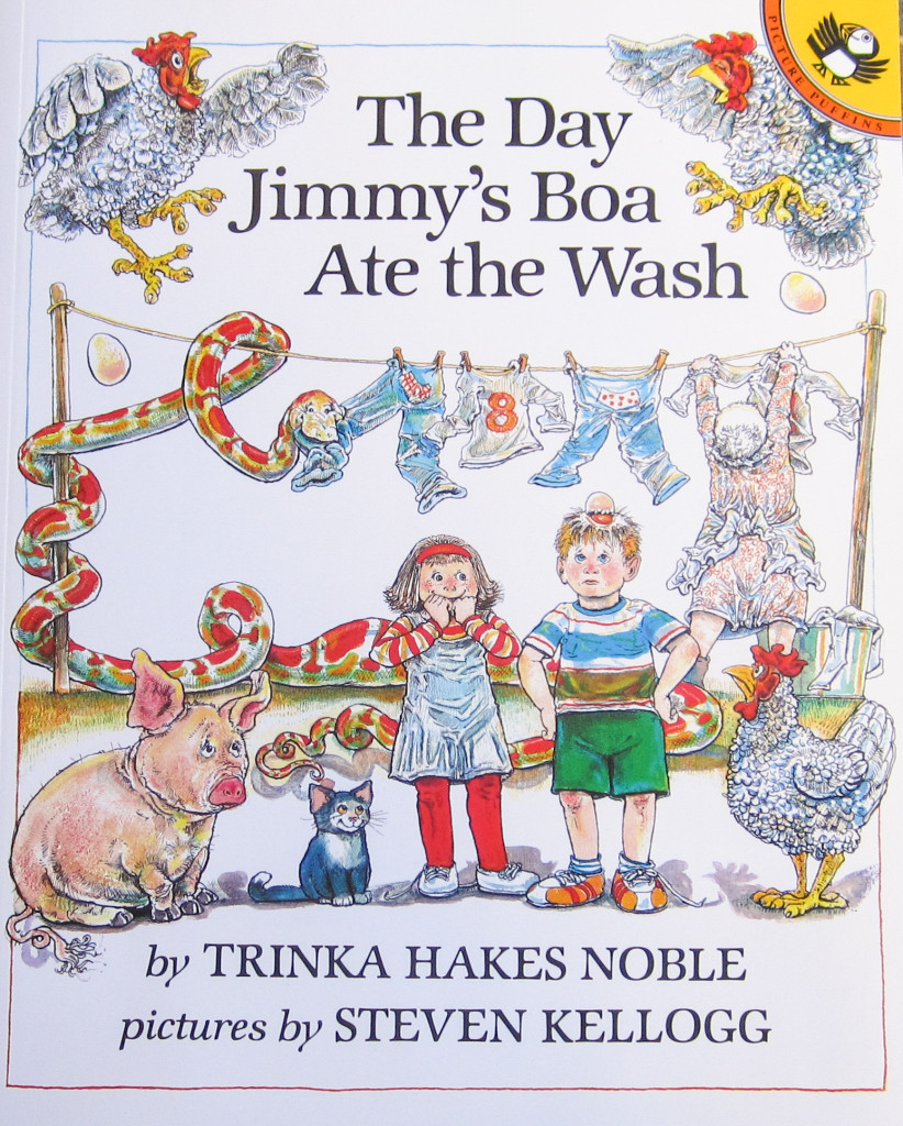 The Day Jimmy's Boa Ate the Wash book cover