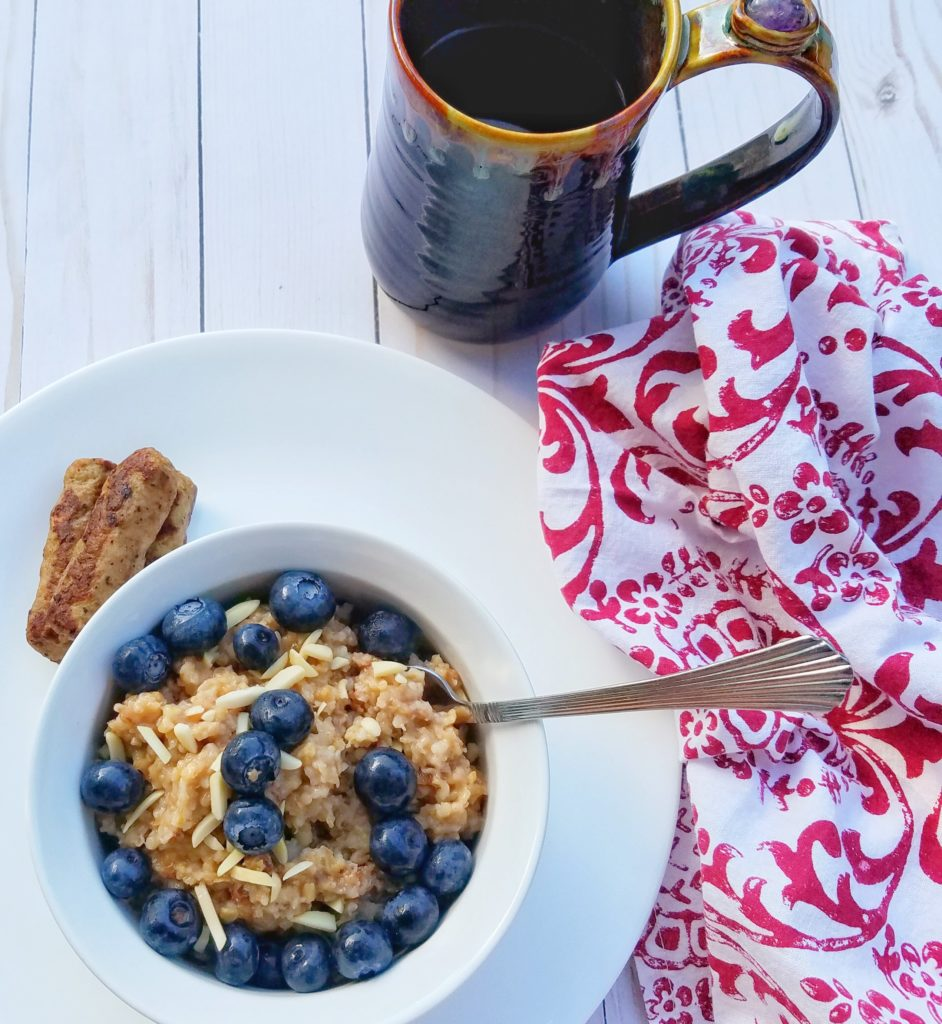 oatmeal, slow cooker, breakfast, healthy