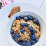 breakfast, slow cooker, paleo-friendly, oatmeal, healthy, quick breakfast, family-friendly